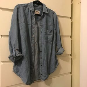 Anthropologie Holding Horses Chambray